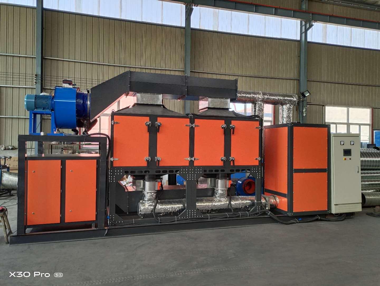 VOCS催(cui)化燃燒設備技術特點的解說